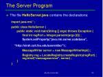 the server program1