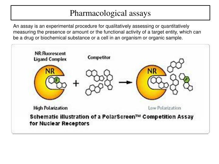 Pharmacological assays