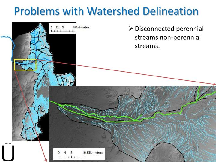 Problems with Watershed Delineation