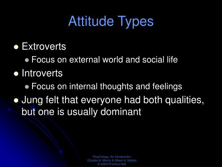 Attitude Types