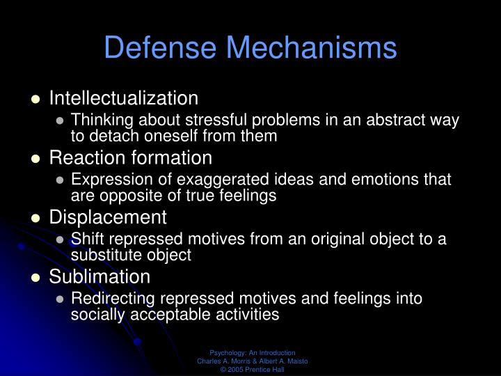 Defense Mechanisms