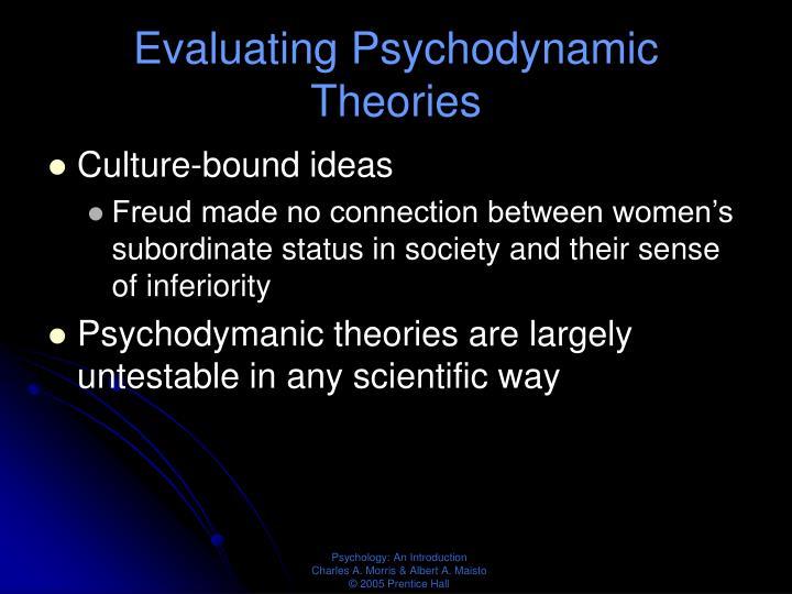 Evaluating Psychodynamic Theories