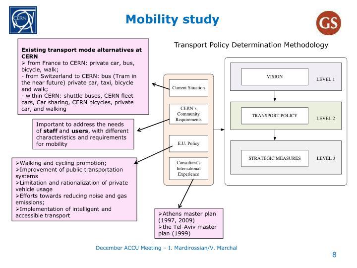 Mobility study