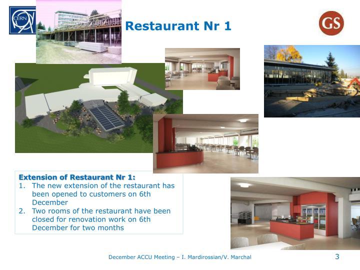 Restaurant nr 1