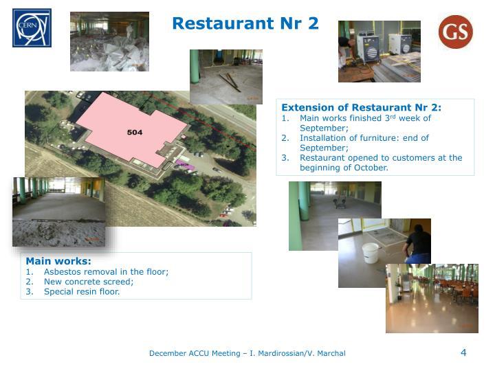 Restaurant Nr 2