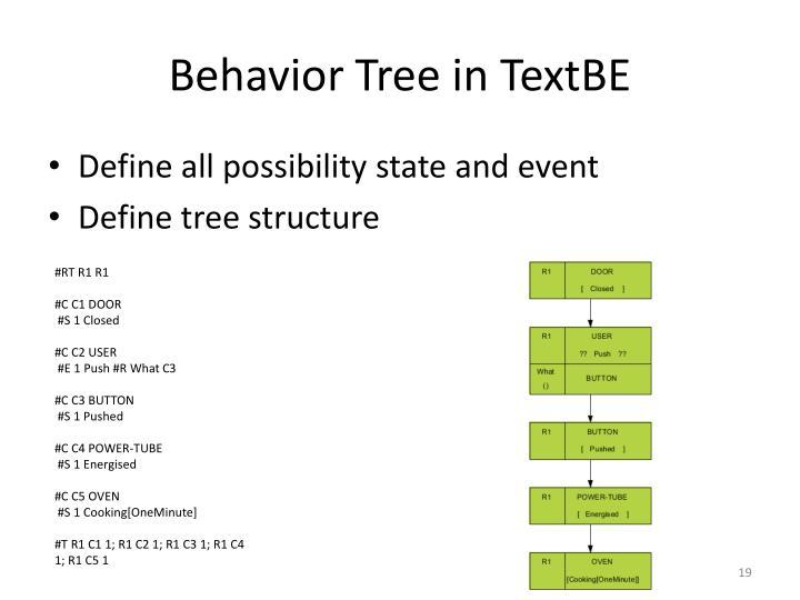 Behavior Tree in