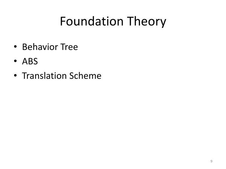 Foundation Theory