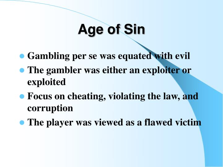 Age of Sin