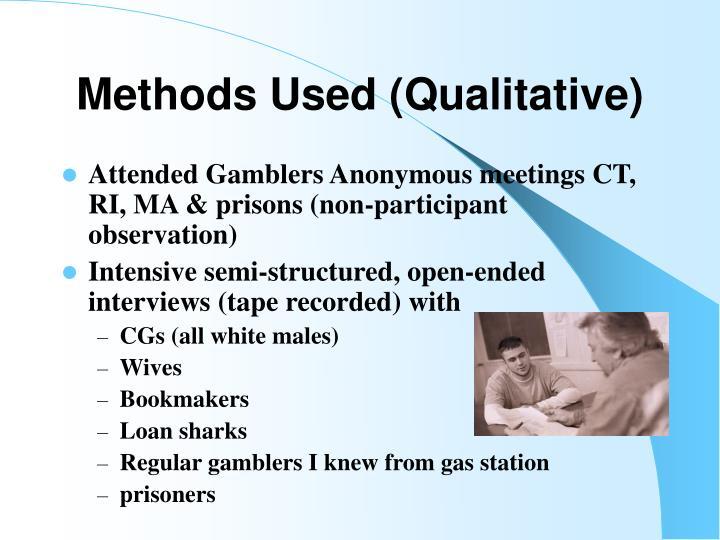 Methods Used (Qualitative)