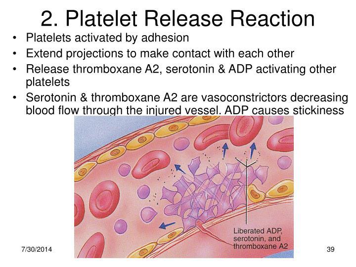 2. Platelet Release Reaction