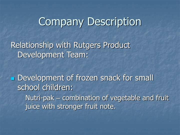 Company description1