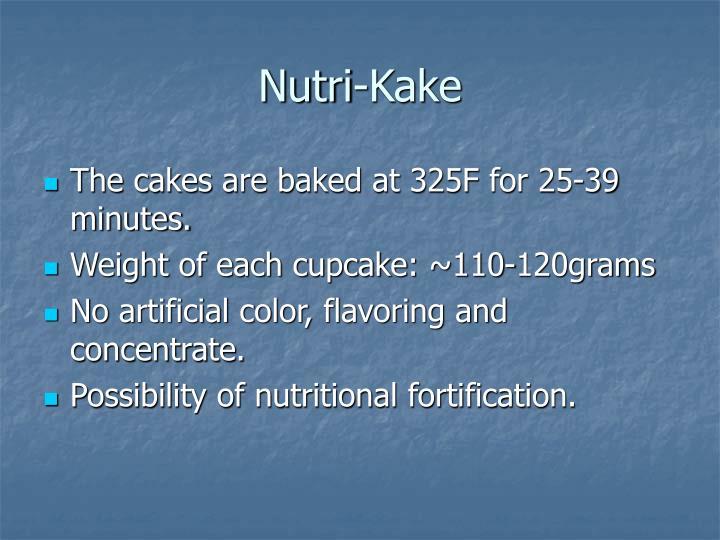 Nutri-Kake