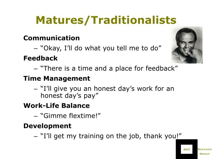 Matures/Traditionalists