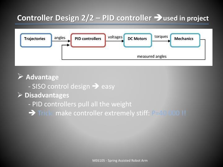 Controller Design 2/2 – PID