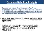 dynamic dataflow analysis