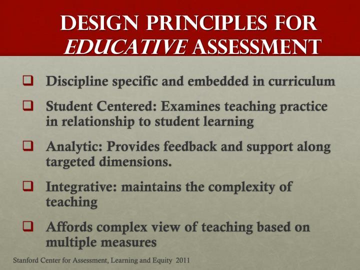 Design Principles for