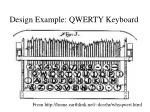 design example qwerty keyboard