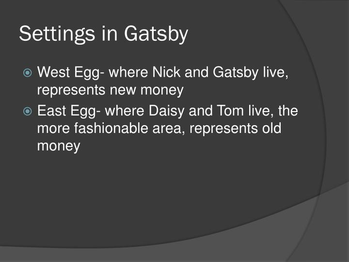 Settings in Gatsby