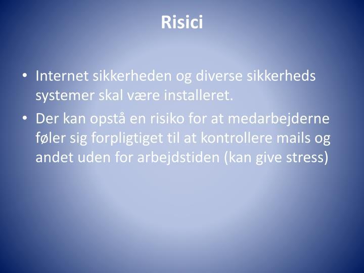 Risici
