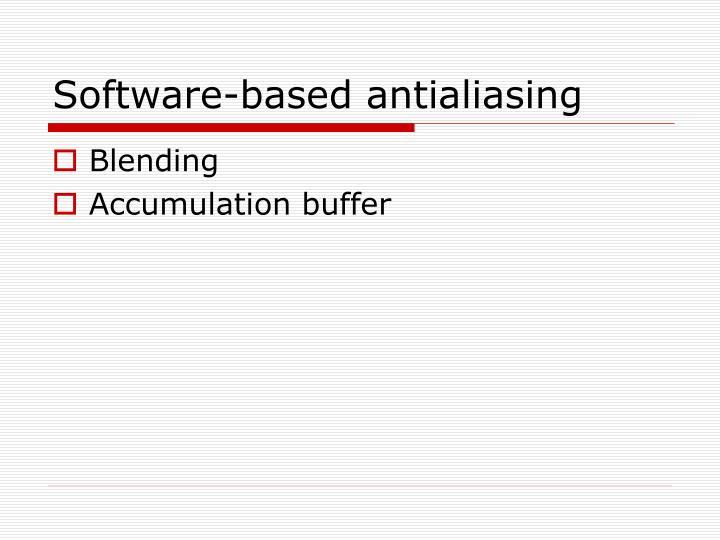 Software-based