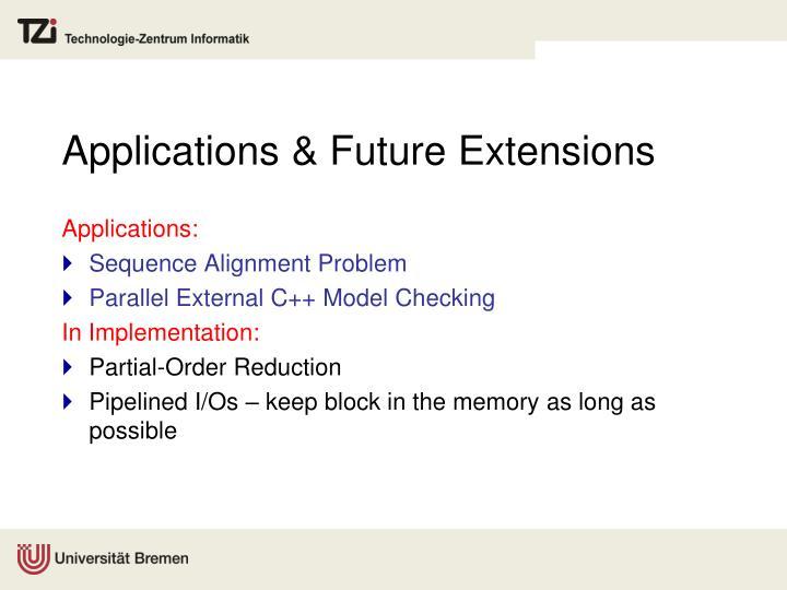 Applications & Future Extensions