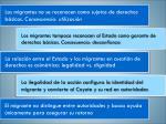 los migrantes no se reconocen como sujetos de derechos b sicos consecuencia utilizaci n
