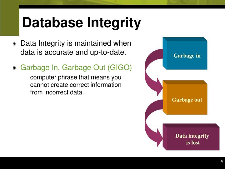 Database Integrity