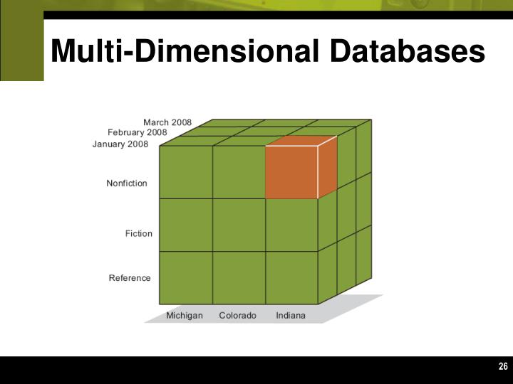 Multi-Dimensional Databases