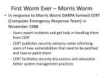 first worm ever morris worm3