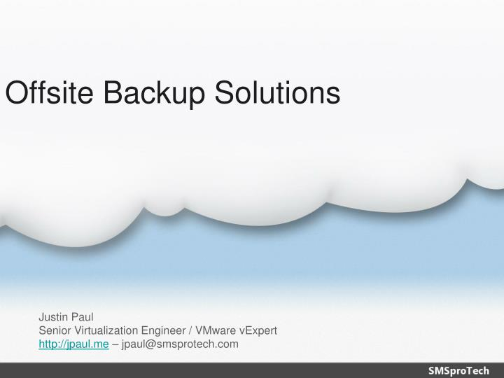 offsite backup solutions n.