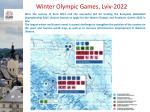 winter olympic games lviv 2022