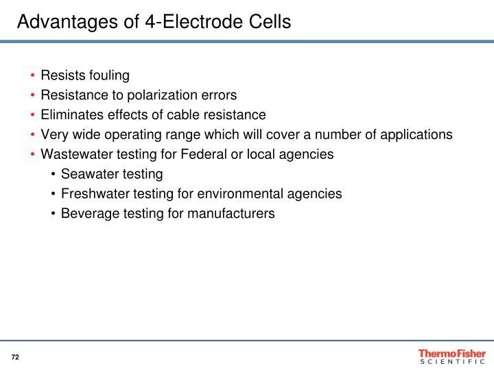 Advantages of 4-Electrode Cells