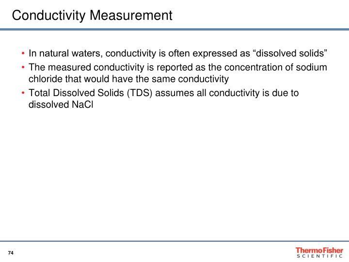 Conductivity Measurement