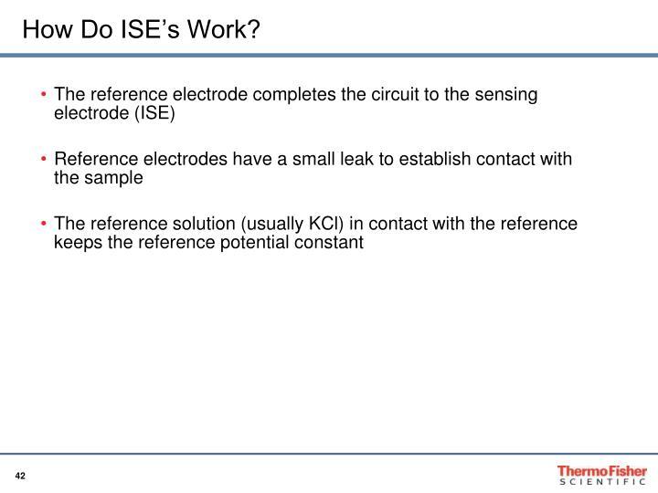 How Do ISE's Work?
