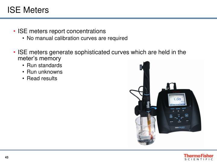 ISE Meters