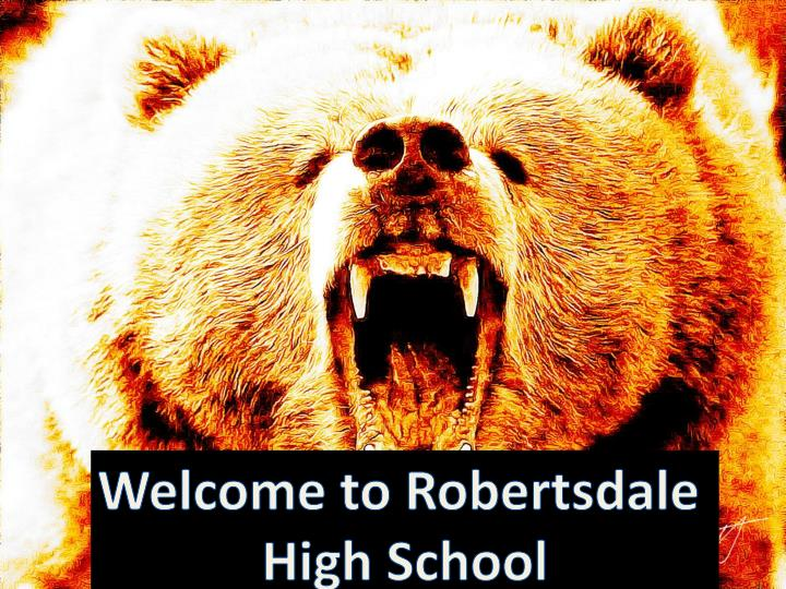Welcome to Robertsdale