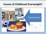 causes of childhood overweight2