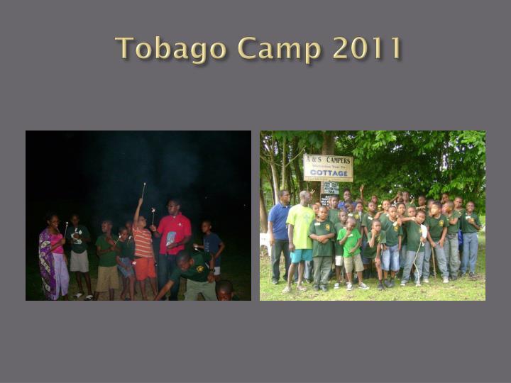 Tobago Camp 2011