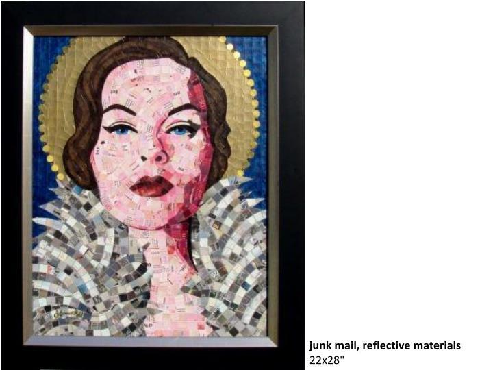 junk mail, reflective materials