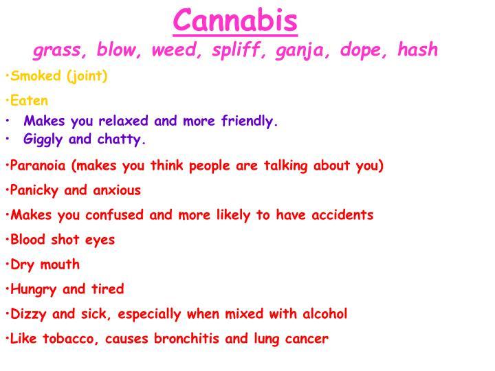 Cannabis grass blow weed spliff ganja dope hash