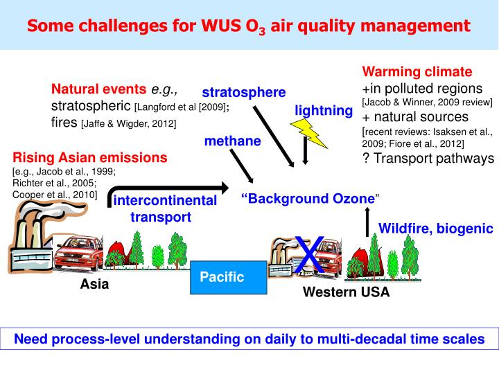 Some challenges for WUS O