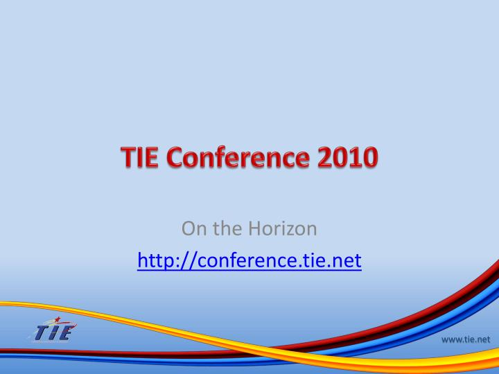 tie conference 2010 n.