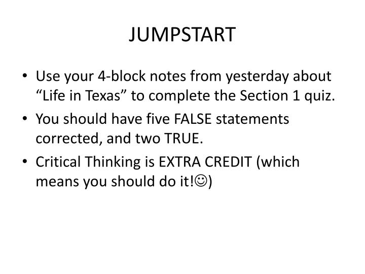 critical thinking quiz 1 This tutorial contains 2 response to this dq gen 499 week 4 discussion 1 critical thinking principles prepare: in preparation for discussing the importance of critical thinking skills, please read chapters 1 through 3 of think smarter: critical thinking to improve problem-solvi.