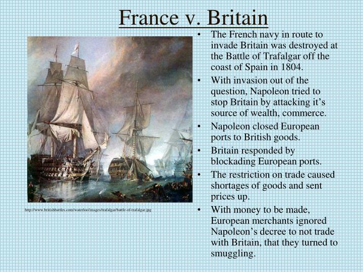 France v britain