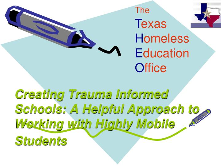 creating trauma informed schools a helpful approach to working with highly mobile students n.