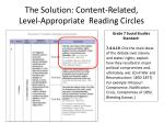 the solution content related level appropriate reading circles1