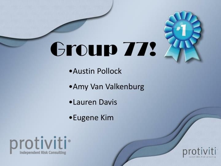 Group 77!