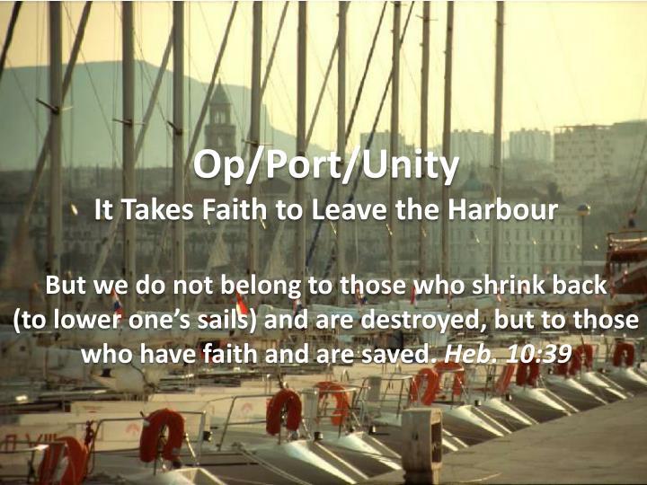 Op/Port/Unity