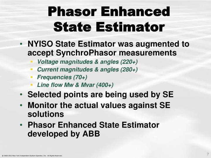 Phasor Enhanced