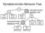 nondeterministic behavior tree